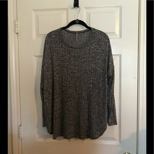 8a97f234b58 Black and grey long sleeve top